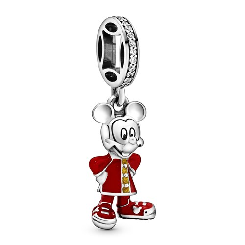 Pandora Disney Mickey Mouse Dangle Charm 798635C01