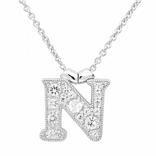 Petra Azar Initial N Necklace
