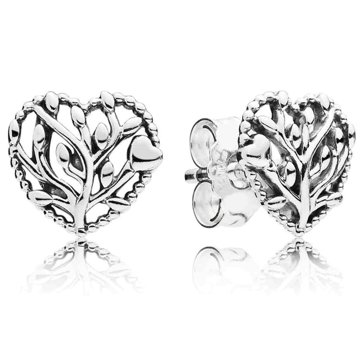 Pandora Women Silver Stud Earrings - 297085 lfHGZq5