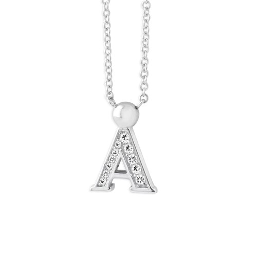 Petra Azar Mini Initial A Necklace