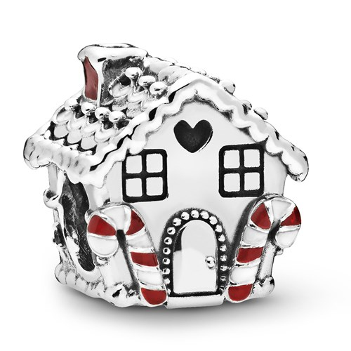 Pandora Gingerbread House Charm 798471C01