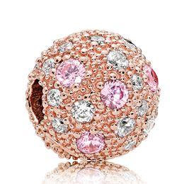63eaa273aecce PANDORA Rose Gold CZ Shining Elegance Safety Chain - Elisa Ilana