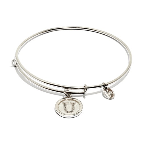 Chrysalis Initial U Bangle Bracelet