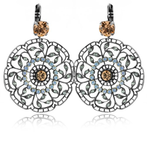 Mariana Ornate Blooming Earrings