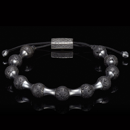 William Henry Lava Zenith Bracelet