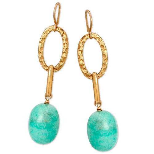 Elisa Ilana Amazonite Earrings