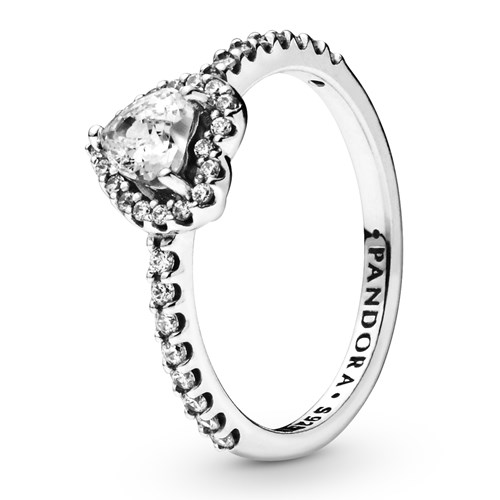 Pandora Elevated Heart Ring 198421C01