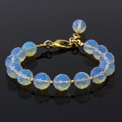 Opalite Lollie-Gold Overlay