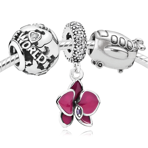 PANDORA You're My World Charm Set