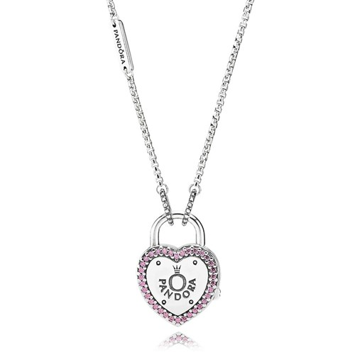 PANDORA Lock Your Promise Necklace