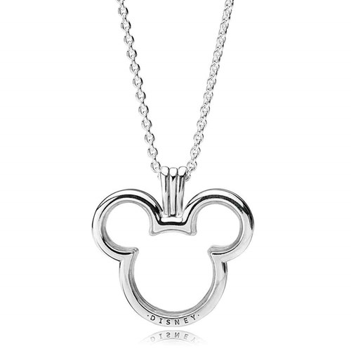 PANDORA Disney, Mickey Floating Locket 397177-75