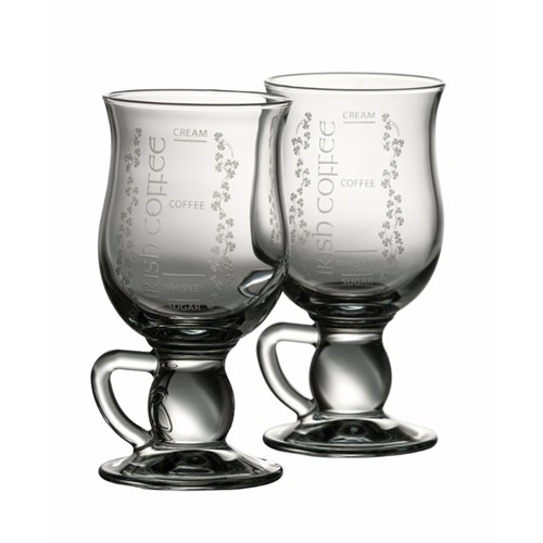 Irish Coffee Mug Pair