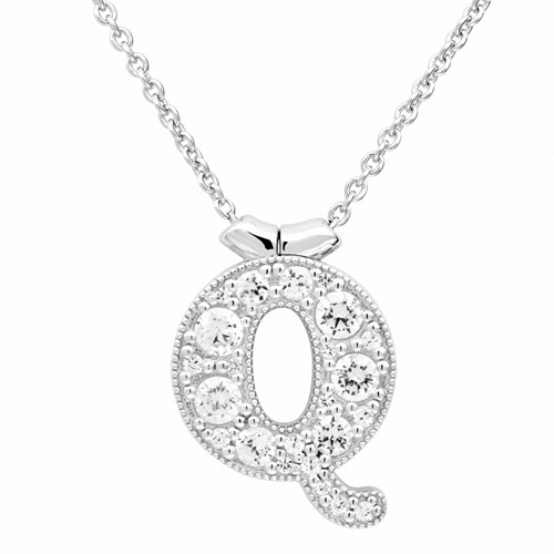Petra Azar Initial Q Necklace