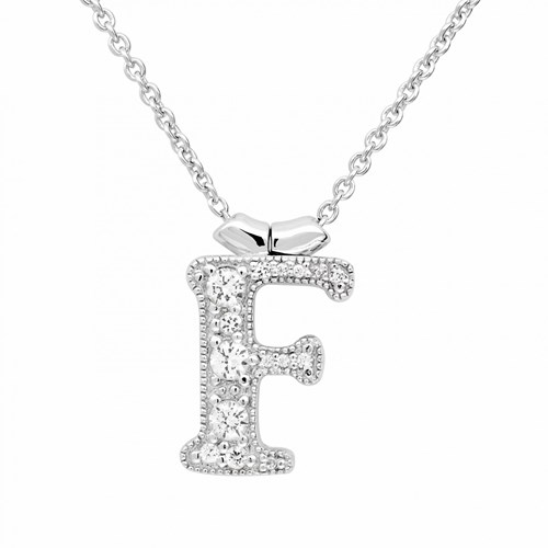 Petra Azar Initial F Necklace