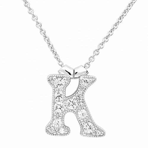 Petra Azar Initial K Necklace
