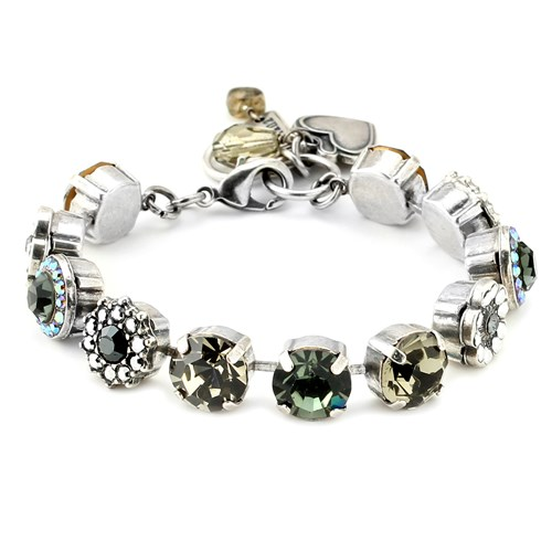 Mariana Black & Grey Bracelet