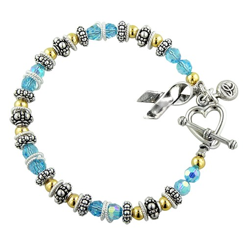 Prostate/Thyroid Cancer Spectacular Awareness Bracelet