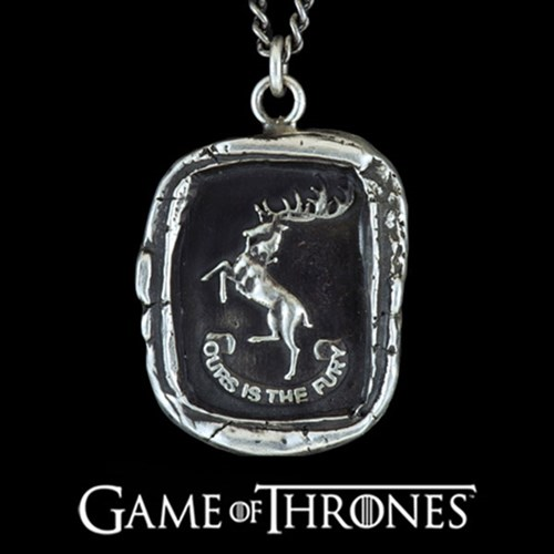 Pyrrha Game of Thrones | House Baratheon Necklace