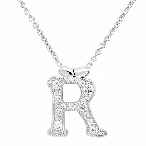 Petra Azar Initial R Necklace