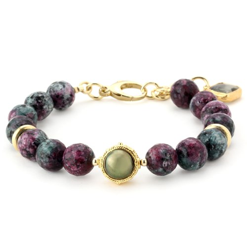 Lollies Ruby Zoisite Bracelet 344498
