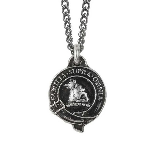 Pyrrha Bear Honor Badge Necklace