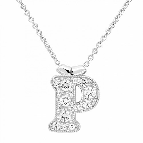 Petra Azar Initial P Necklace