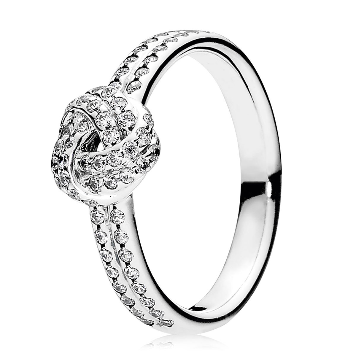 for diamond knot link cuban ring ro engagement love cocktail women rings luxurman