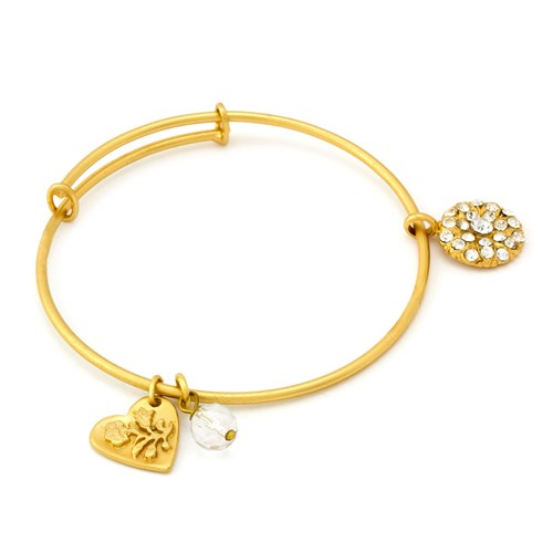 Mariana Clear Star of David Bangle