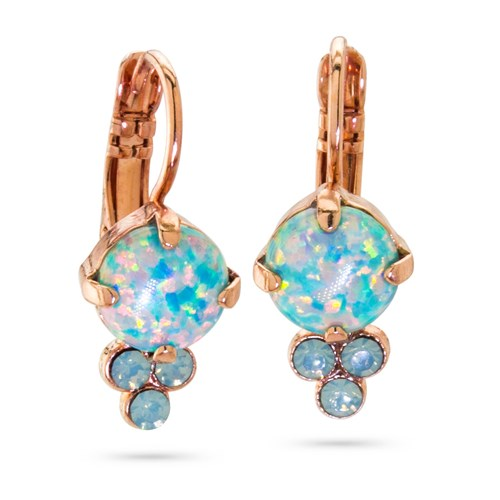 Mariana Green Opal Drop Earrings E-1010SO-M2143-RG6