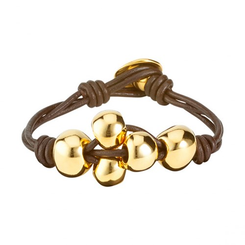 UNOde50 Ball-By-Ball Bracelet PUL1766OROMAR0M