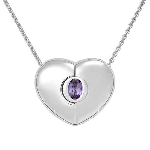 Petra Azar June Heart Necklace