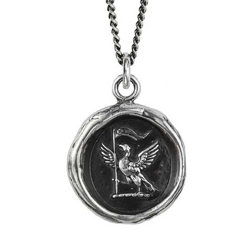 Pyrrha Never Settle Necklace