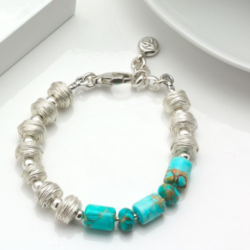 Impressionist Collection Turquoise Bracelet 10674B