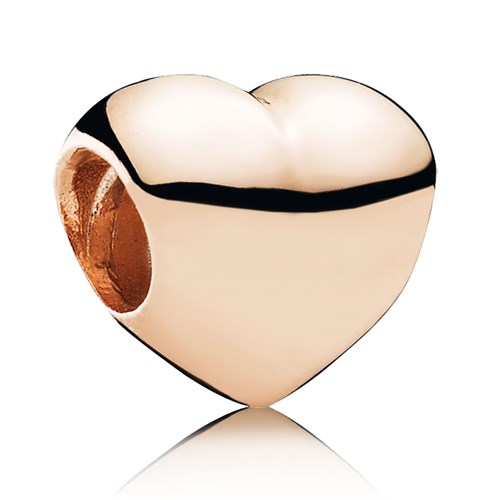 PANDORA Rose™ Big Smooth Heart Charm