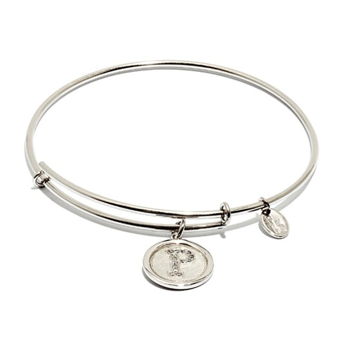 Chrysalis Initial P Bangle Bracelet