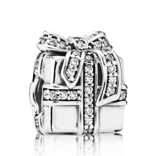PANDORA Sparkling Surprise with Clear CZ Charm