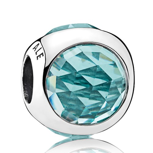 PANDORA Radiant Droplet, Icy Green Crystals Charm