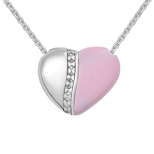 Petra Azar River of Love Pink Necklace