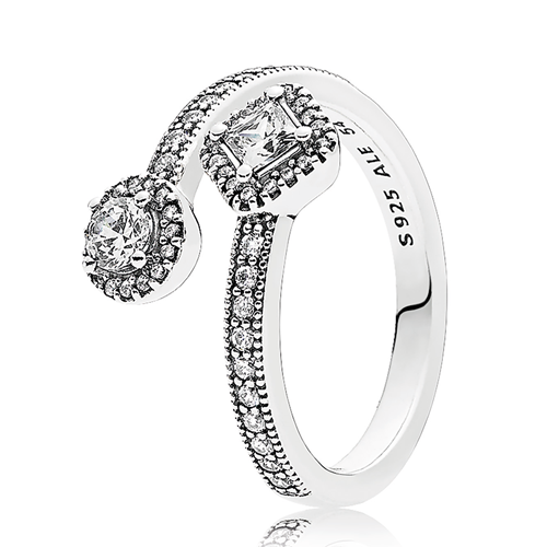 PANDORA Abstract Elegance Ring
