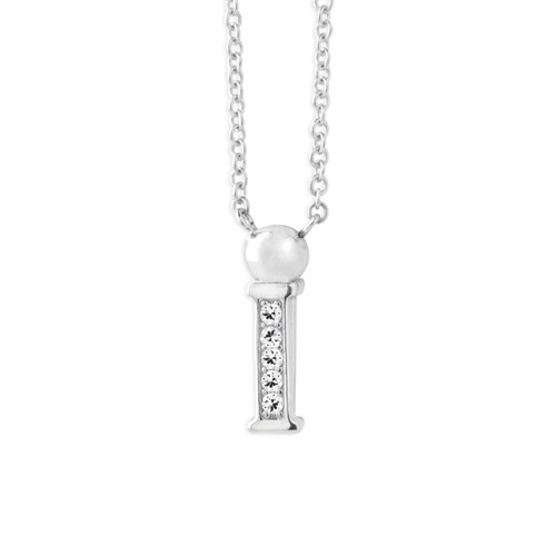 Petra Azar Mini Initial I Necklace