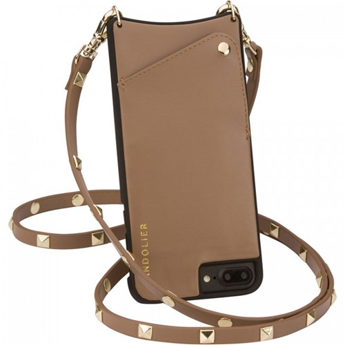 Bandolier Sarah Taupe Gold Phone Case