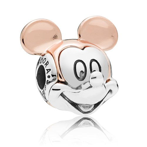 PANDORA ESSENCE  Disney Two-tone Mickey Portrait 787503