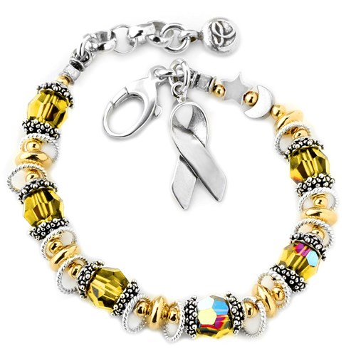 Childhood Cancer Awareness Bracelet