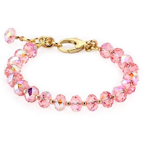 e71163953 Lollies Pink Swarovski Crystal Bracelet Elisa Ilana - Elisa Ilana
