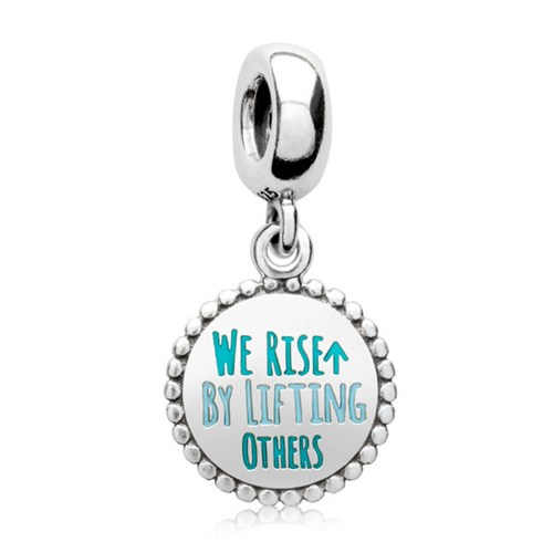 PANDORA We Rise By Lifting Others Dangle Charm