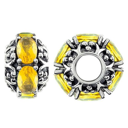 Storywheels Citrine Sterling Silver Wheel