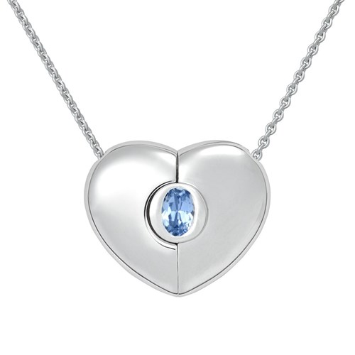 Petra Azar March Heart Necklace