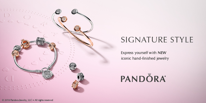 New PANDORA Signature Iconic Collection - Pre-Autumn Release 2018