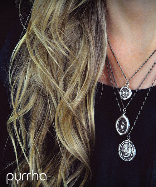 Pyrrha Talisman Necklaces