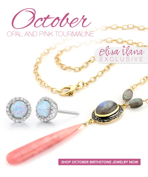 Elisa Ilana October Birthstone Jewelry